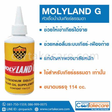หัวเชื้อน้ำมันเกียร์ MOLYLAND G ราคาถูก