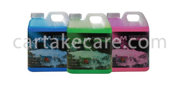 น้ำยาทำความสะอาดรถยนต์ foam wax