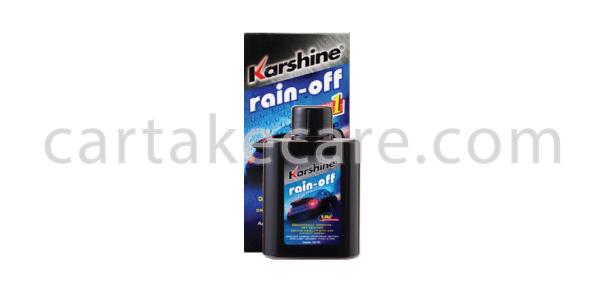 น้ำยาเช็ดกระจกรถยนต์ karshine rain off ราคาถูก