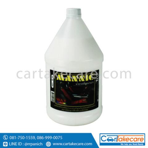 น้ำยาขัดเบาะรถยนต์ เคลือบเงา mannic