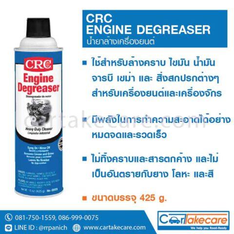 CRC 05025 สเปรย์ล้างเครื่องยนต์ สเปรย์ทำความสะอาดเครื่องยนต์