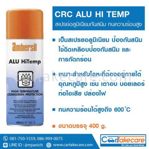 น้ำยากันสนิม สเปรย์กันสนิม อลูมิเนียม CRC 30296