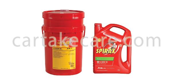 SHELL SPIRAX S2 A 80W-90 API GL-5