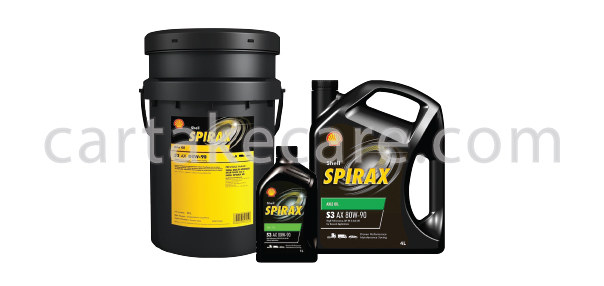 SHELL SPIRAX S3 AX 80W-90 API GL-5